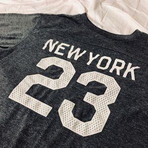 """NEW YORK 23"" LONG SHORT-SLEEVE SHIRT"